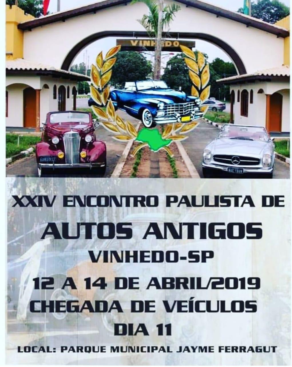 XXIV Encontro Paulista de Autos Antigos - Vinhedo