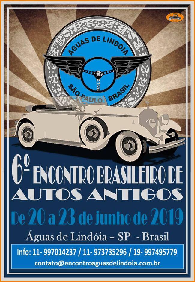 6º Encontro Brasileiro de Autos Antigos - Águas de Lindóia